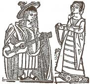 Icono de la categoría de registros de romancero